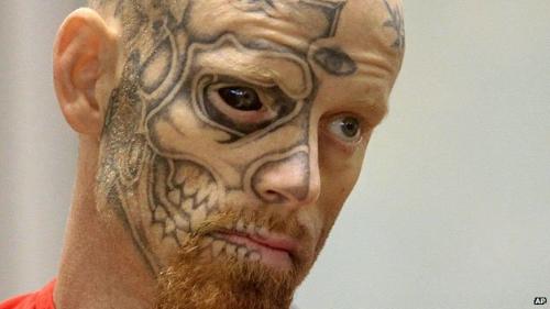 tatouag, oeil, nouveau, etrange
