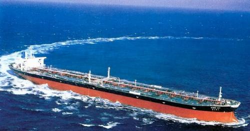bateau petrolier, geant