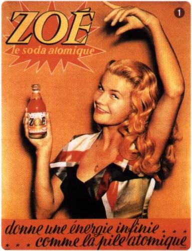 sexy, zoe, soda, atomique,radium,danger