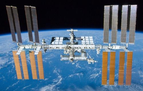 espace, iss, altitude, satellite